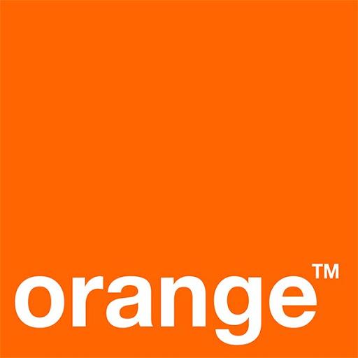 Boutique orange téléphonie décoration mur intérieur publicité Montluçon Allier 03 Clermont-Ferrand Puy-de-Dôme 63 Guéret Creuse 23