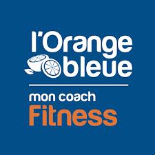 Orange Bleue mon coach fitness communication panneau vitrophanie Feytiat limoges Haute Vienne 87 fabrication pose Atelier Comm'unique publicité