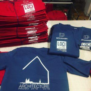 textile sweat shirt LOCI louvain publicité communication Auvergne